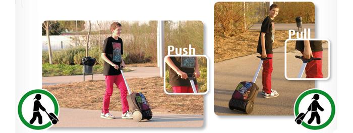 Рюкзак на колесах Nikidom Испания Мандала арт. 9011 (19 литров), - фото 19