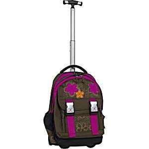 Школьный рюкзак на колесах Take It Easy Madrid Аппликация + дождевик