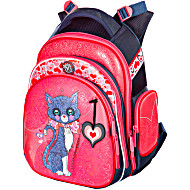 Ранец Hummingbird KIDS TK18 Patrician Cats с мешком для обуви + пенал в подарок